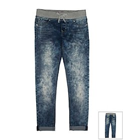 Lee® Girls' 7-16 Knit Waistband Jeans