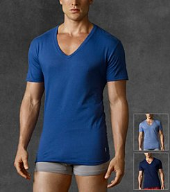 Polo Ralph Lauren® Men's 3-Pack Assorted Classic Cotton V-Neck Tee