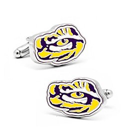 Cufflinks Inc. NCAA® Louisiana State University Tiger's Eye Men's Cufflinks