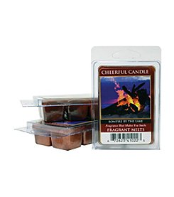 Cheerful Candle 6-Pack Bonfire By The Lake Fragrant Wax Melts