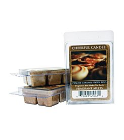 Cheerful Candle 6-Pack Praline Caramel Sticky Buns Fragrant Wax Melts