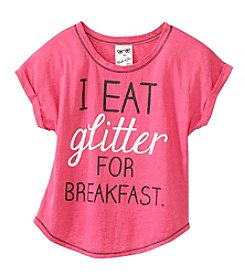 Belle du Jour Girls' 7-16 Spoonful Of Sparkles Tee
