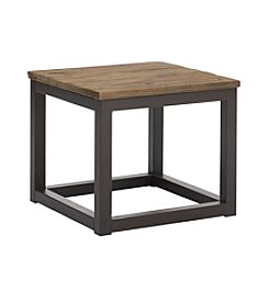 Zuo Modern Distressed Natural Civic Center Side Table