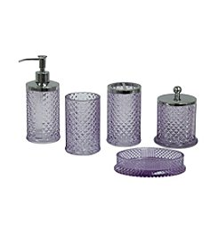 Jessica Simpson Diamond Cut Bath Collection