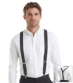 Tommy Hilfiger® Men's Convertible Stripe Suspenders