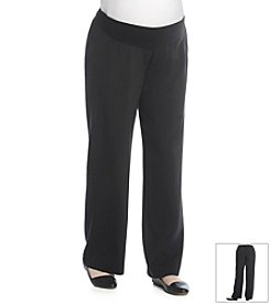 Three Seasons Maternity™ Plus Size Dress Pants
