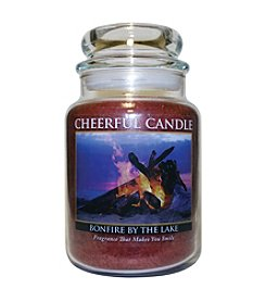 A Cheerful Giver 24 oz. Bonfire By The Lake Candle