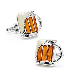 Cufflinks Inc. Men's Mug of Beer Cufflinks
