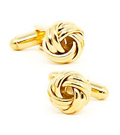 Ox & Bull Men's Gold Knot Cufflinks