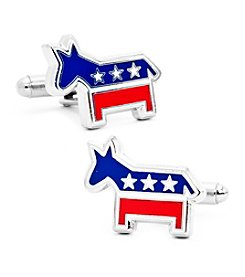 Cufflinks Inc. Men's Democratic Donkey Cufflinks