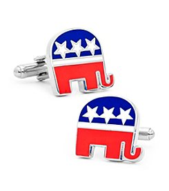 Cufflinks Inc. Men's Republican Elephant Cufflinks