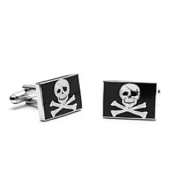 Cufflinks Inc. Men's Jolly Rodger Flag Cufflinks