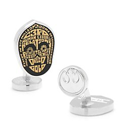 Star Wars™ Men's C3PO Typography Cufflinks