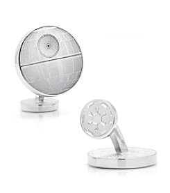 Star Wars™ Men's Death Star Blueprint Cufflinks