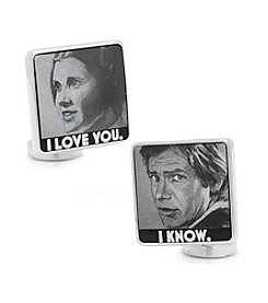 Star Wars™ Men's I Love You I Know Cufflinks