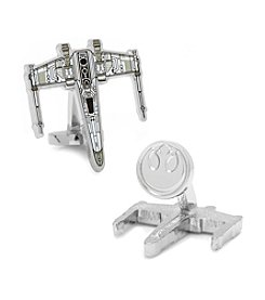 Star Wars™ Men's Star Wars X-Wing Starfighter Blueprint Cufflinks