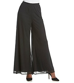 MSK® Mesh Wide Legged Pants