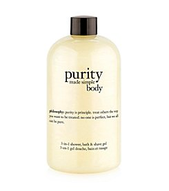 philosophy® Purity Made Simple Body 3-in-1 Shower, Bath & Shave Gel