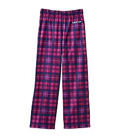 Calvin Klein Girls' 5-16 Plaid Poly Pants