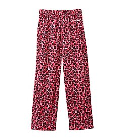 Calvin Klein Girls' 5-16 Leopard Poly Pants