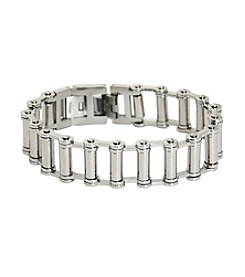 Stainless Steel Bike Chain Bracelet 8.5