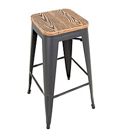 LumiSource Set of 2 Oregon Pub Stools