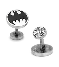 DC Comics Men's Vintage Batman Logo Cufflinks