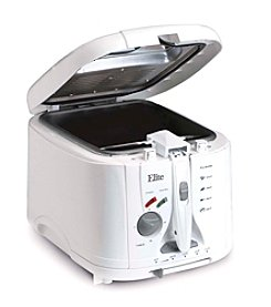 Elite Cuisine 2-qt. Cool Touch Deep Fryer with Timer