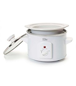Elite Cuisine 1.5-qt. Round Slow Cooker