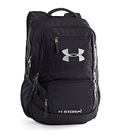 Under Armour® Hustle Black Backpack