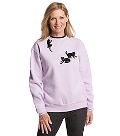Morning Sun® Hang In There Silhouettes Sweatshirt