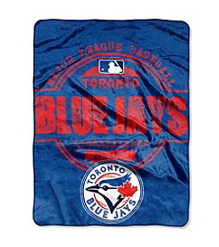 Northwest Company MLB® Toronto Blue Jays Structure Micro Raschel Throw