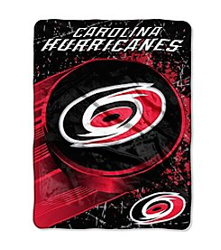 NHL® Carolina Hurricanes Ice Dash Micro Raschel Throw