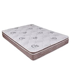 Wolf Corporation Luxury Ultra Firm Pillow Top Foam Mattress