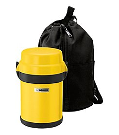 Zojirushi Mr. Bento Lemon Yellow Stainless Lunch Jar