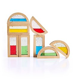 Guidecraft® Shimmering Water Rainbow Blocks