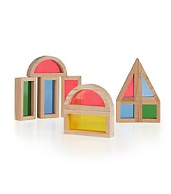 Guidecraft® 10pc Rainbow Blocks Set