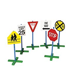 Guidecraft® 6pc Drivetime Signs