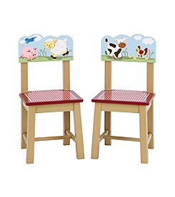 Guidecraft®   2-Piece Farm Friends Extra Chairs