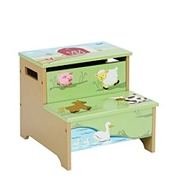 Guidecraft®   Farm Friends Step Up Storage Stool