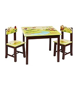 Guidecraft®   Jungle Party Table & Chairs Set