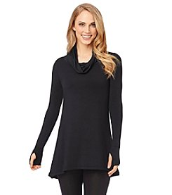 Cuddl Duds® Softwear Stretch Cowl Neck Top