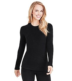 Cuddl Duds® Fleece With Stretch Long Sleeve Top