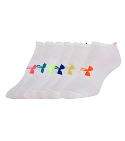 Under Armour® Women's 6-Pack Liner No Show Socks