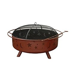 Landmann Super Sky Black Fire Pit with Sparkscreen