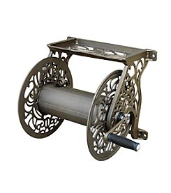 Liberty Garden Decorative Wall Mounted Hose Reel
