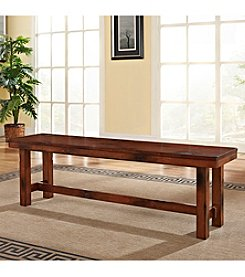 W. Designs Dark Oak Bench
