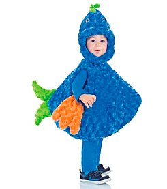 Big Mouth Blue Fish Costume