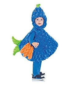 Big Mouth Blue Fish Child Costume