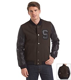 Sean John® Men's Wool Varsity Jacket